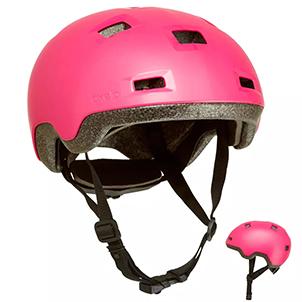 迪卡侬滑板车头盔8398415